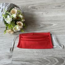 Ochranná rouška - bavlněná červená